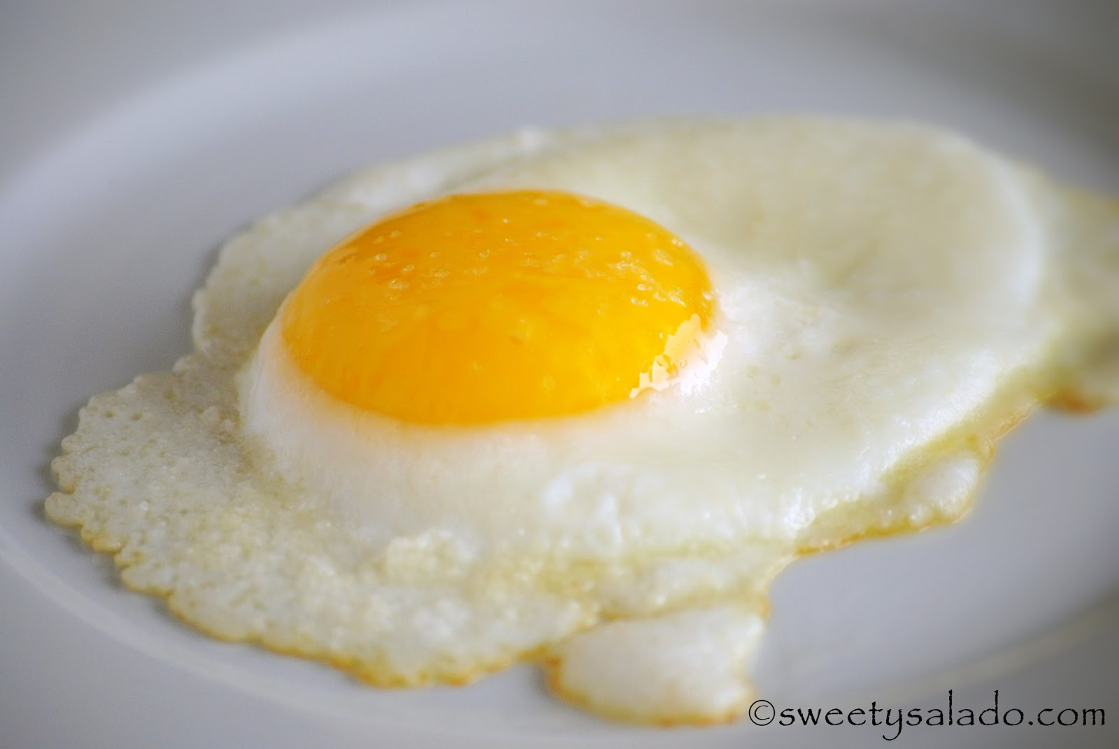 sweet y salado how to fry an egg