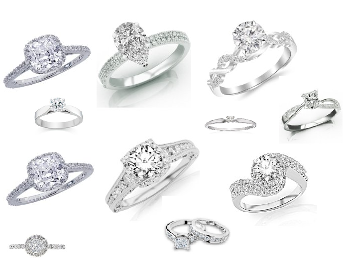 Where to buy affordable High End Diamond Engagement Rings $500 - $5k