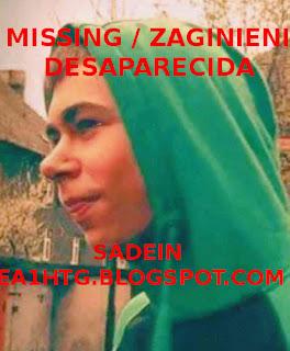 Missing / Zaginieni / Desaparecida Patricios Radzinski poland, polska, polonia