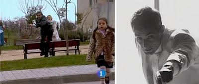 Muerte del personaje de Miguel Molina en 'Ana y los siete'. Muertes en series españolas.