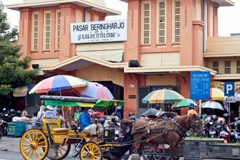 traditional market in Malioboro