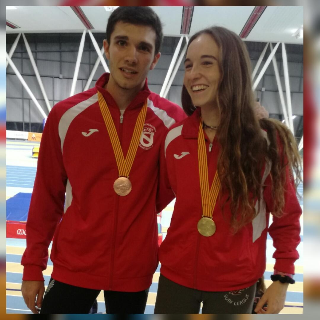 Campionat de Catalunya Pista Coberta Sub23 2018