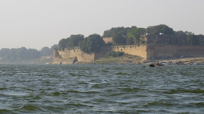 Fort at Triveni Sangam Prayag Allahabad Uttar Pradesh
