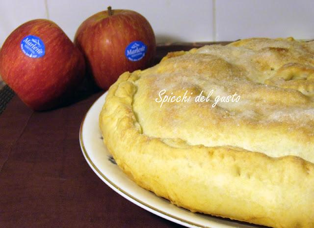 Apple Pie con mele e cioccolata fondente