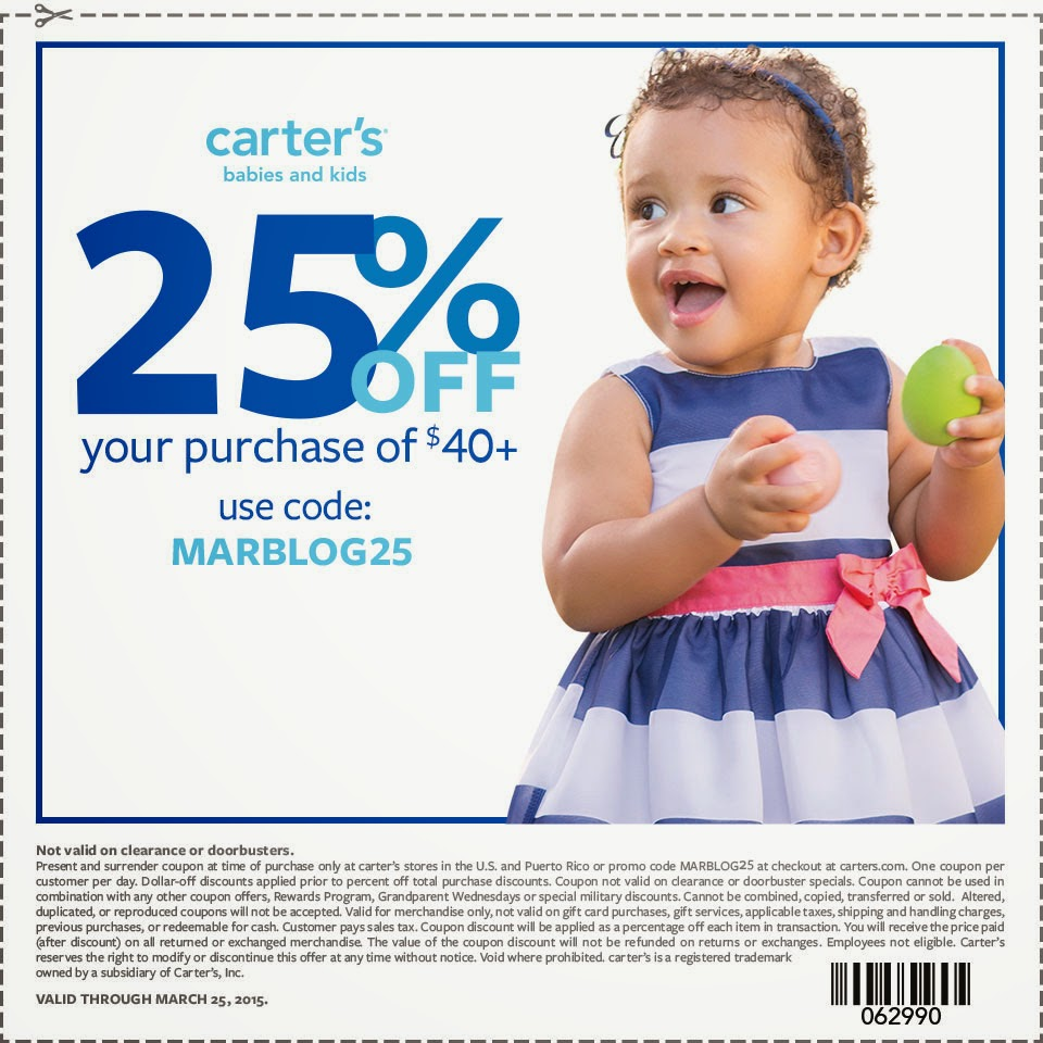 Carter's Coupon