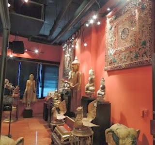 Buddha, antiques, Wesco Fabrics