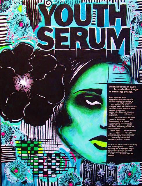 Art by Bebee Pino - Painting - Youth Serum