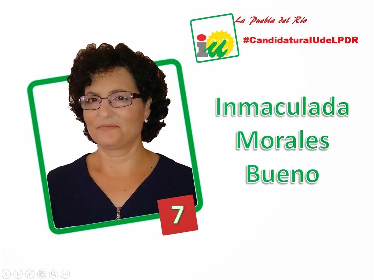 #CandidaturaIUdeLPDR Inma Morales