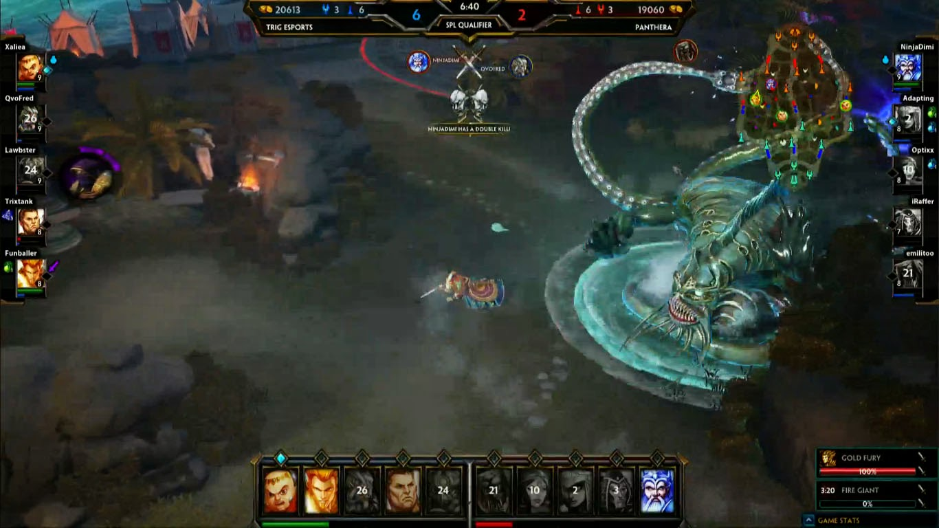 Shadowhorn Gaming Spl Qualifiers Eu Trig Esports Vs Panthera