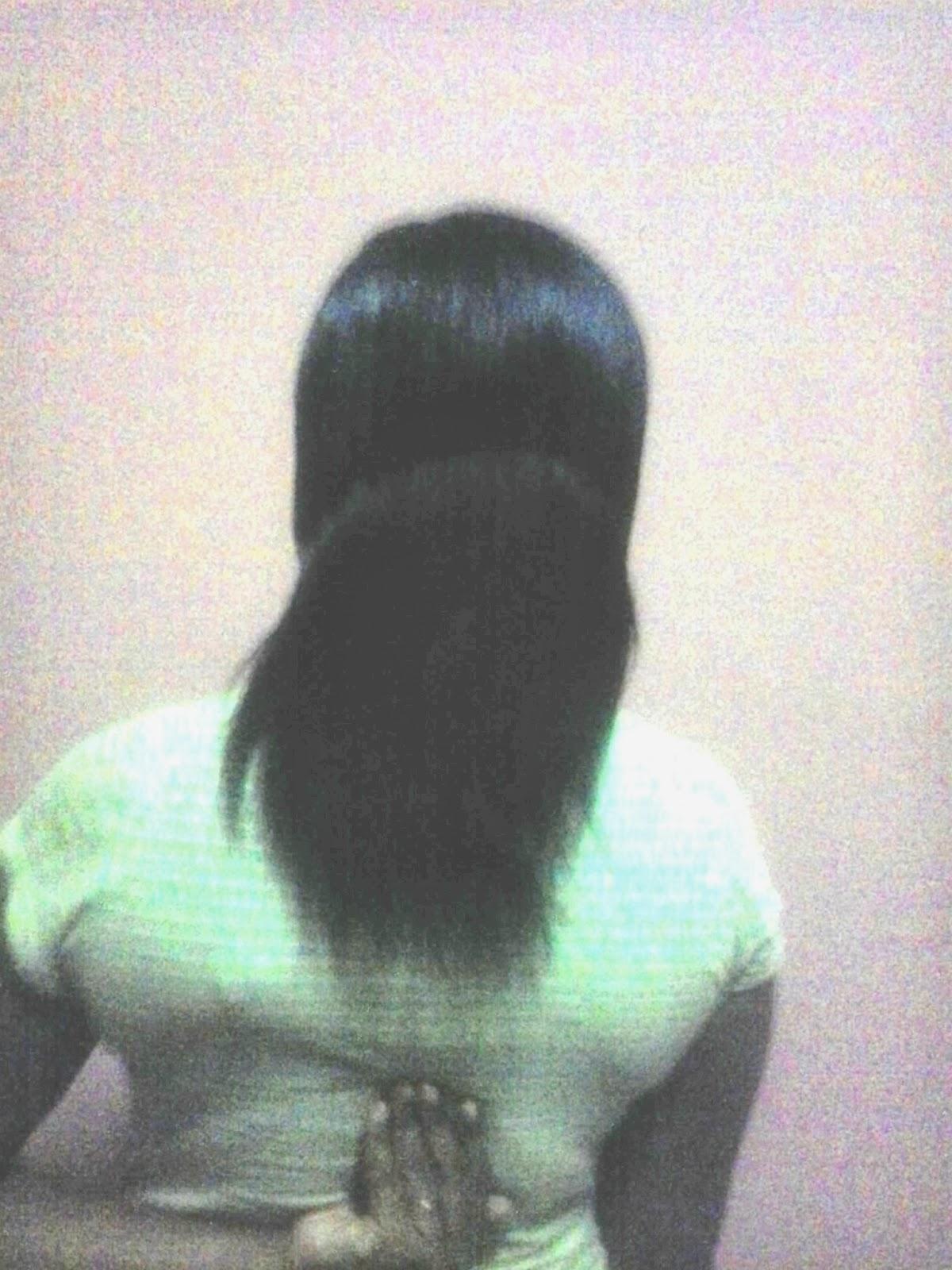 armpit length hair