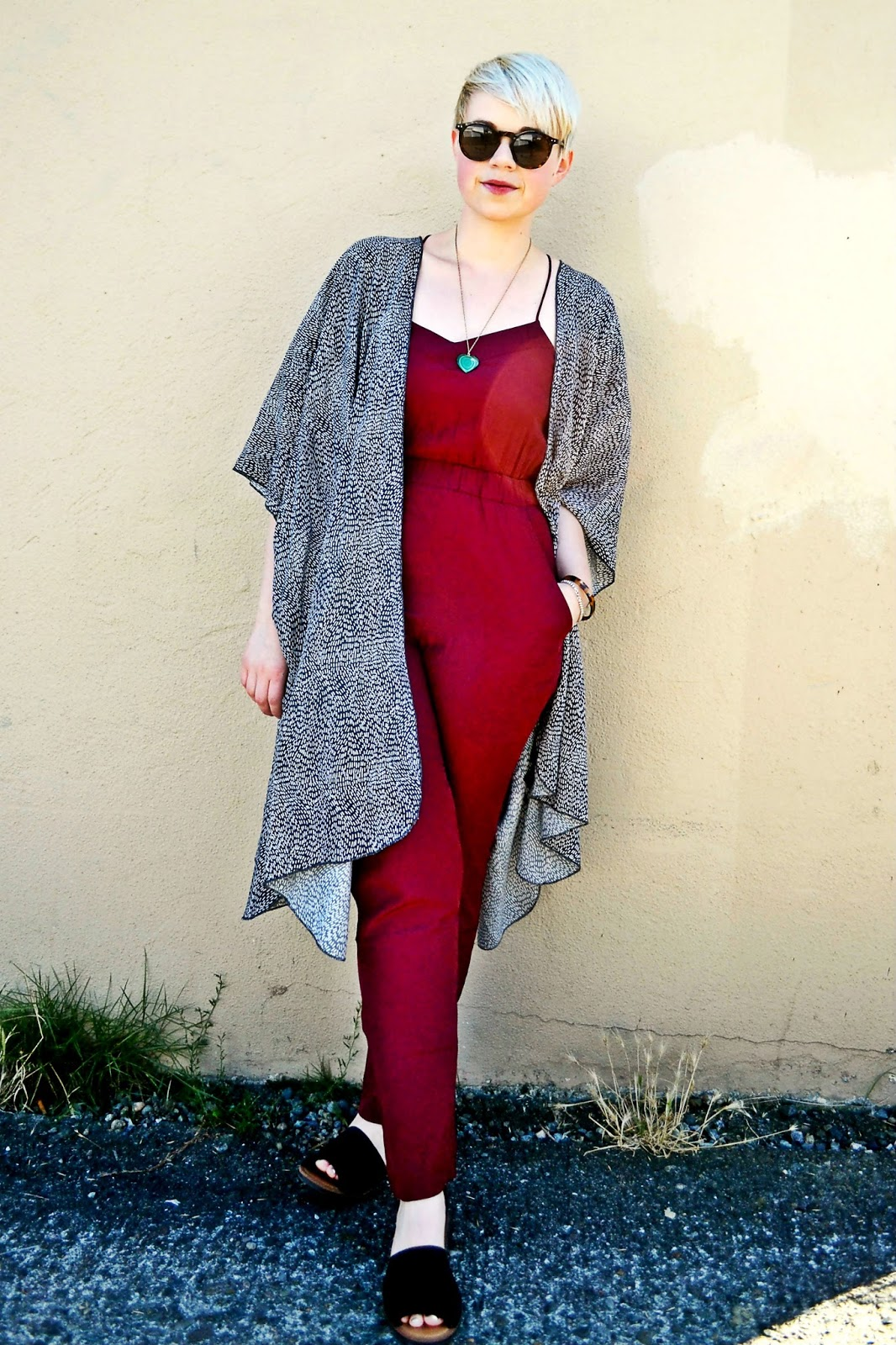 jewel tones, fall fashion, kimono, outfit ideas, look of the day, fleur d'elise, oasap, seattle, street style