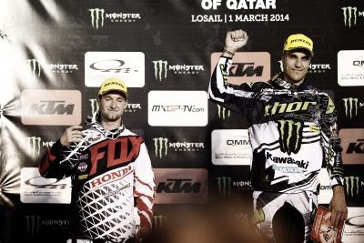 Pilotii Dunlop isi adjudeca primele locuri si mare premiu in etapa MX din Quatar