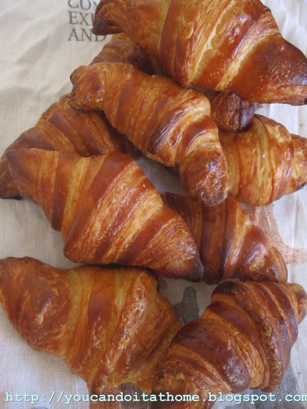 You can do it... at home!: Croissants made with poolish ...