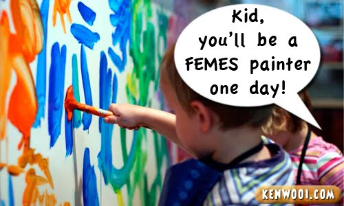 famous kid painter
