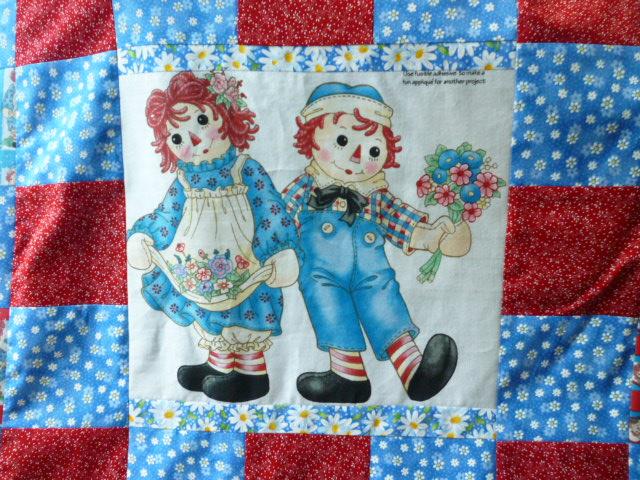 Rhonda's Creative Life: Raggedy Ann And Andy Get Ready For The Ball : raggedy ann quilt pattern - Adamdwight.com
