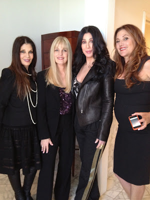 Loree Rodkin, Georgina LaPiere, Cher and Paulette Betts