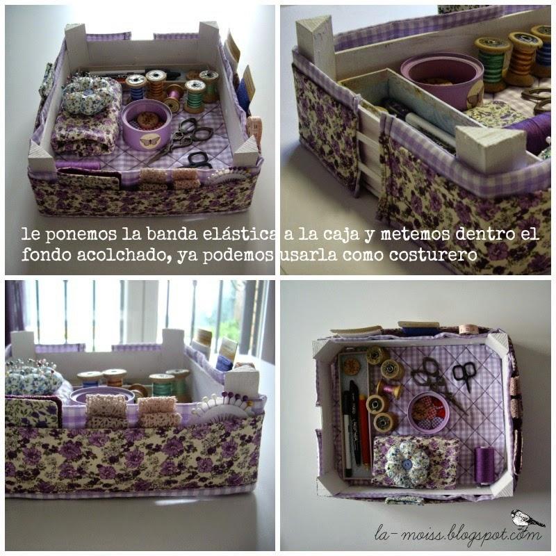 reciclando caja de fresas