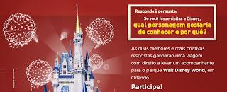 """Concurso Cultural """"Viagem à Disney"""""""