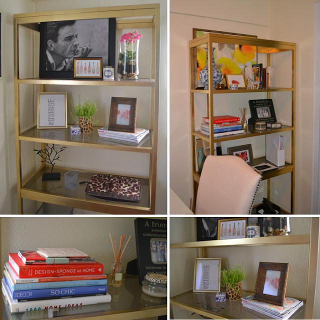 diy brass etagere hello boudreau. Black Bedroom Furniture Sets. Home Design Ideas