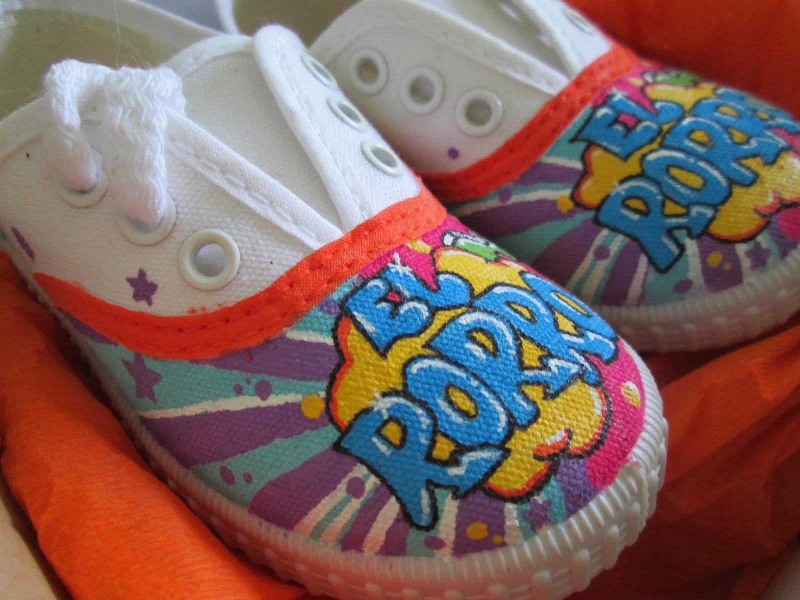 zapatillas victoria pintadas personalizadas