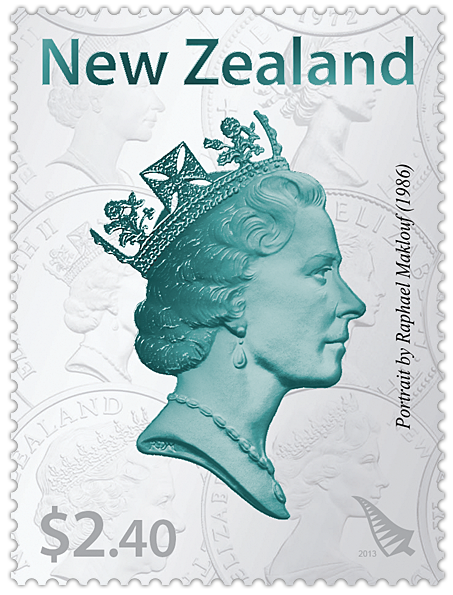 Virtual New Zealand Stamps: 2013 Coronation 60th Anniversary
