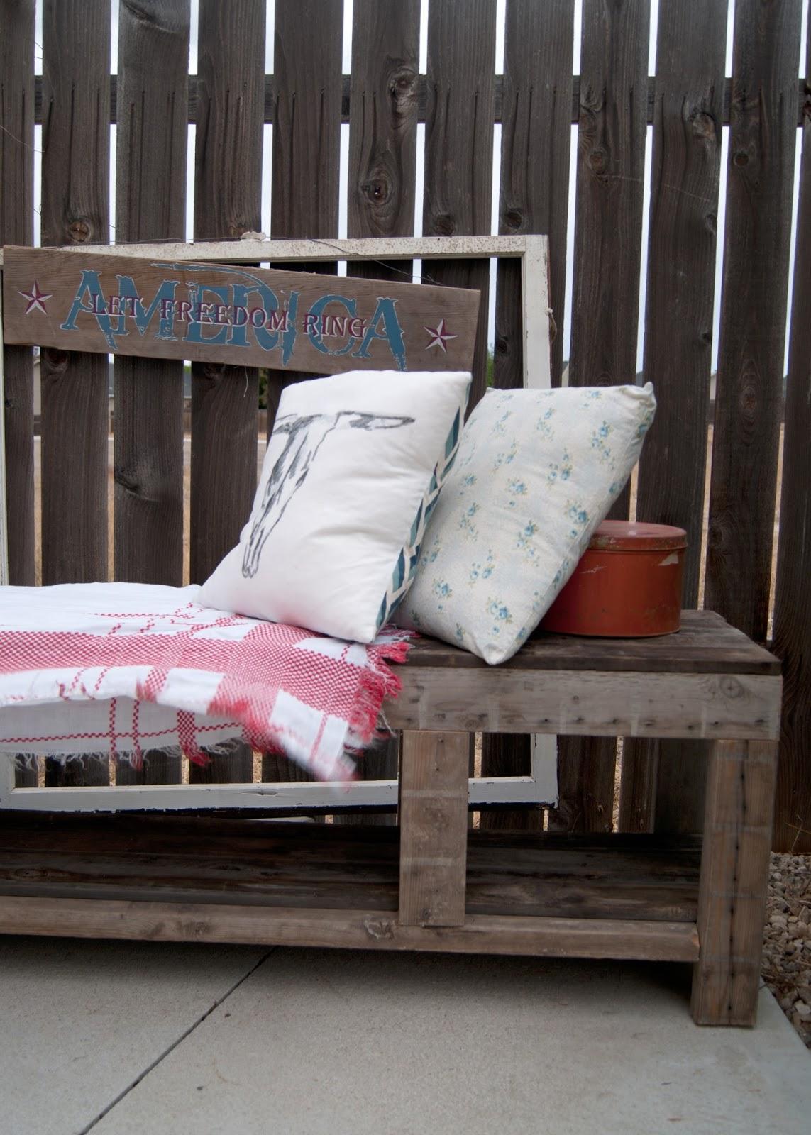 DIY Outdoor Storage Bench Built With A Kreg Jig U0026 Reclaimed Materials    Bottom Shelf For