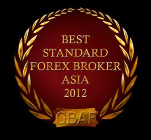 anugerah exness, exness award Best Standard Forex Broker Asia 2012 Global Banking & Finance Review