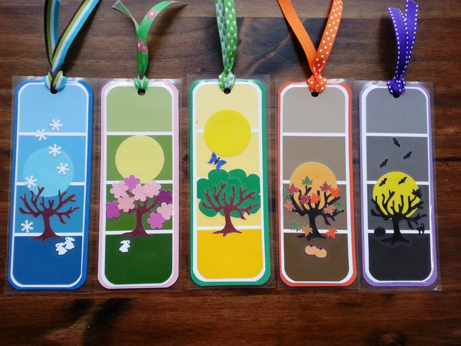 January 2014 munchkins and mayhem for Simple bookmarks