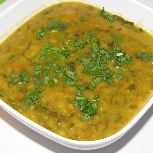 Super Yummy Recipes: Palak Methi Dal (Spinach Fenugreek ...