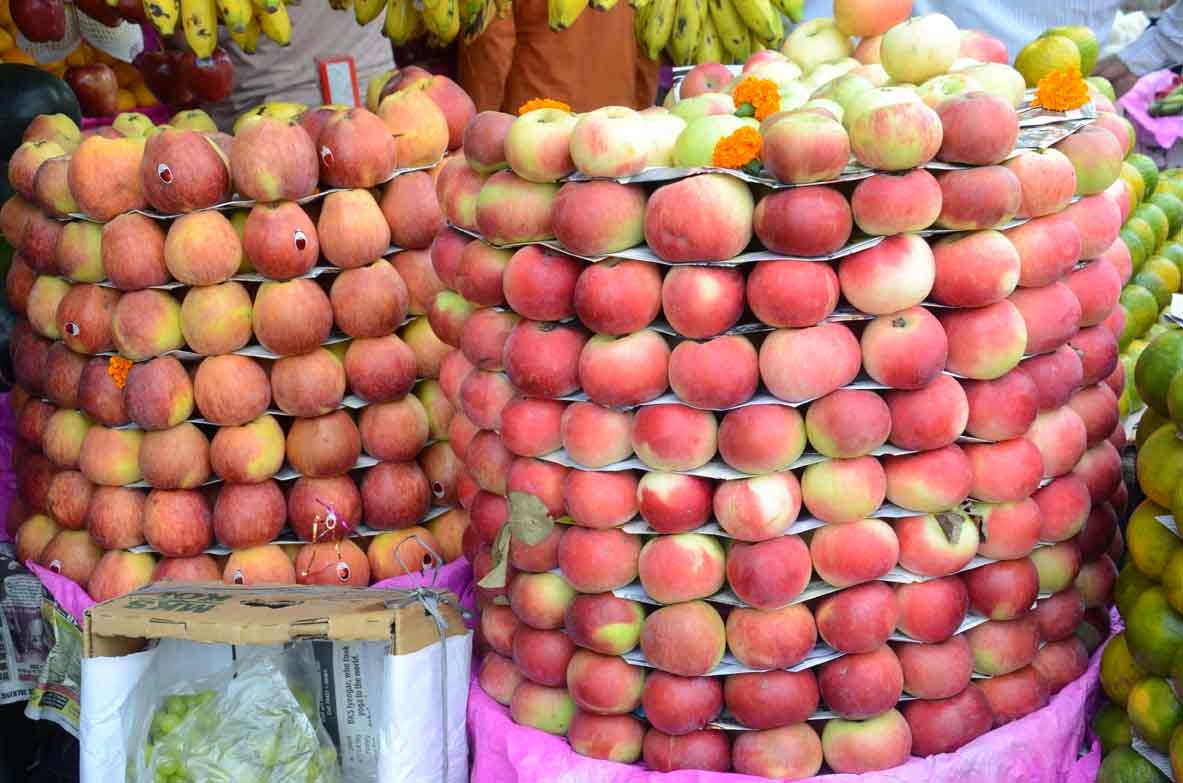 demand of fruits and their prices Shifts of the demand curve their prices being fixed i will buy more of them the market price of these fruits being the same as before.
