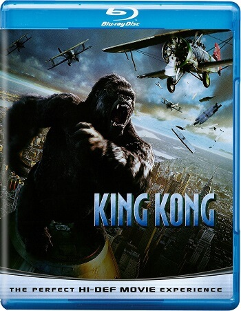 Poster Of King Kong 2005 Dual Audio 720p BRRip [Hindi - English] Free Download Watch Online