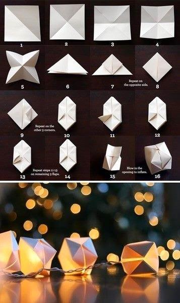 Diwali Paper Lamp