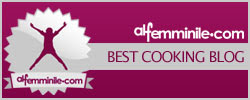best cooking blog award