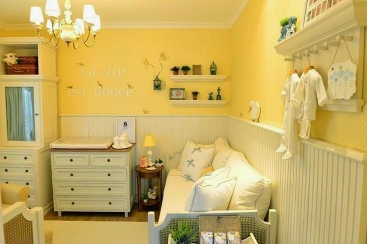 Decoração quarto de bebê amarelinho Jeito de Casa  ~ Quarto Safari Cinza