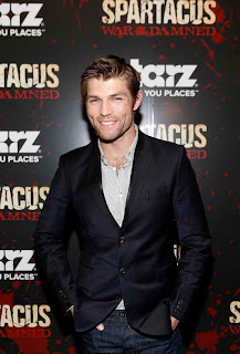 Liam McIntyre at Spartacus War of the Damned Premiere event in NY