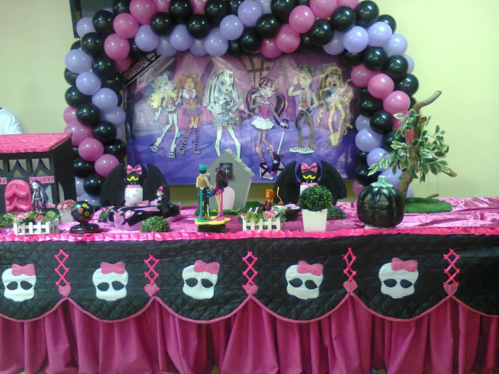 Festa | Ideias para aniversário com o tema Monster High