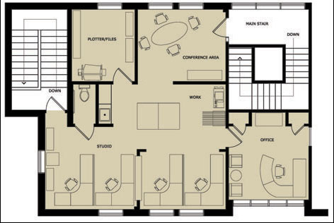 Foundation dezin decor office plans for Small office floor plan