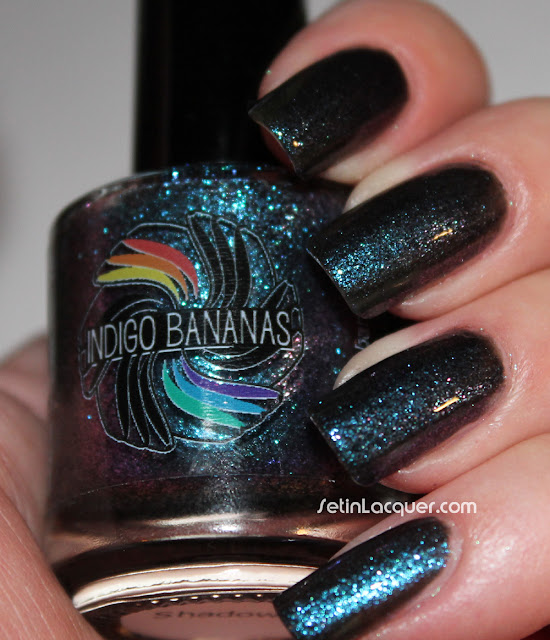 Indigo Bananas Shadow (Indoor light)