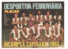 DESPORTIVA FERROVIÁRIA 1980