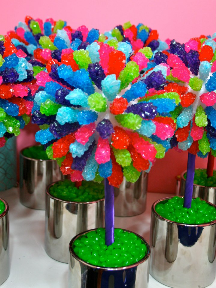 Candy Centerpieces Mitzvah Candy Themed Favors Decor