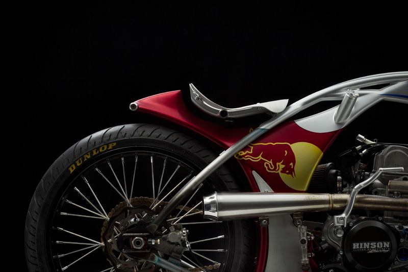 Racing caf vettel 15 by jesse rooke customs for Garage ad buc