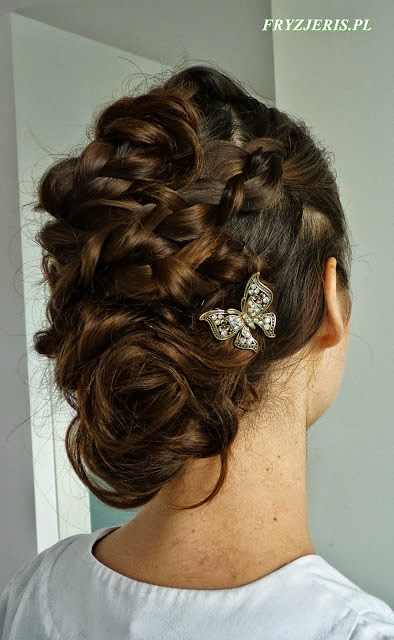 fryzura ślubna 98