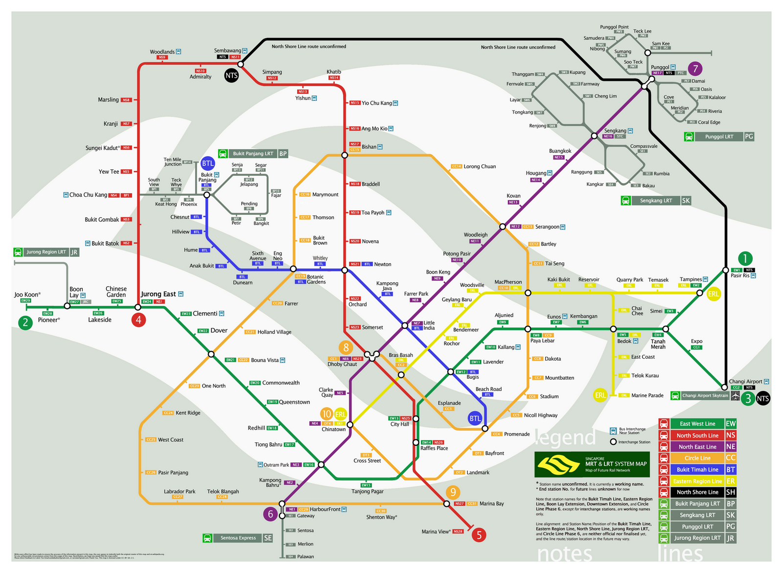 SMRT Map ~ 10,000 Thoughts
