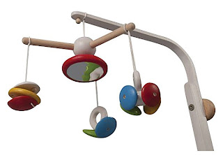 an assortment of brightly colored toys stimulate baby with this crib mobile contrasting colors aid in babyu0027s visual development and watching objects move