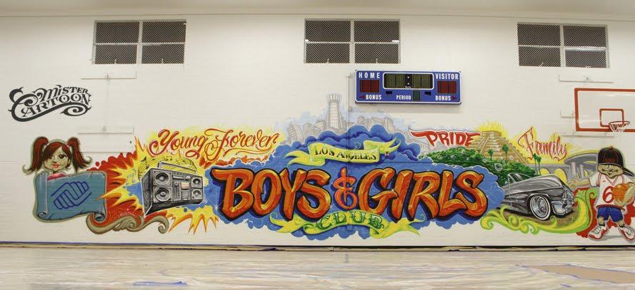 Danny 39 s artistic influences mister cartoon for Eminem wall mural