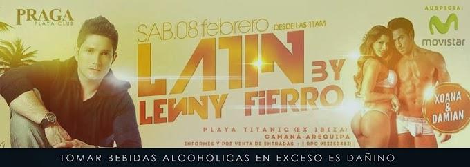 Lenny Fierro en la Punta Camaná - 08 febrero