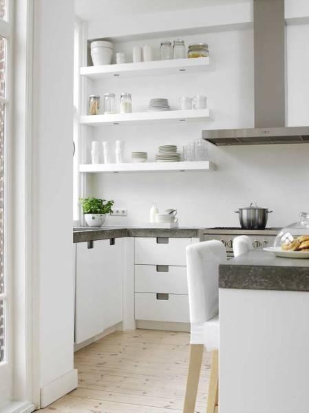 cocinas modernas estantes modernos para cocina
