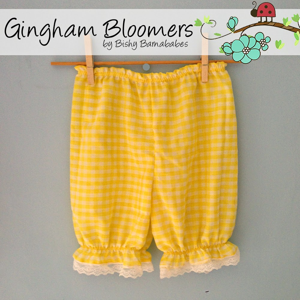 Gingham Bloomers custom made by Bishy Barnababes - Vicki Hibbins