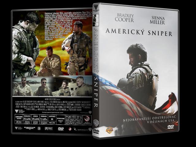 Capa DVD American Sniper