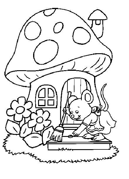 Dibujos para Colorear y Manualidades: Dibujos para pintar de niños